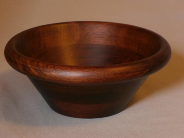 木製のやさしい器 激安セール 天然木 サラダボール こげ茶 15cm 小鉢 業務用 超美品再入荷品質至上 1個