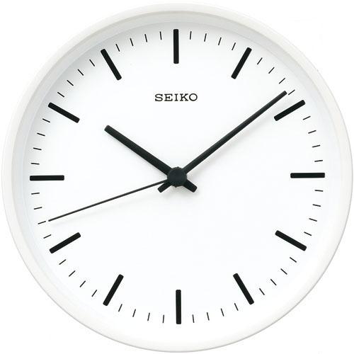 SEIKOギフト包装無料 セイコークロック SEIKO 掛け時計 壁掛け 電波時計 KX310W セイコー掛け時計 セイコー電波時計 パワーデザイン 直径200mm 白 おしゃれ【あす楽対応】 送料無料【ギフト】