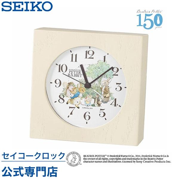 SEIKOギフト包装無料 セイコークロック ピーターラビット 目覚まし時計 掛け時計 壁掛け 置き時計 CE512B セイコー目覚まし時計 セイコー掛け時計 セイコー置き時計 おしゃれ 【あす楽対応】【ギフト】