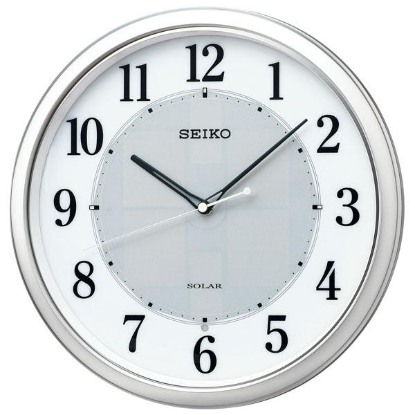 SEIKOギフト包装無料 セイコークロック SEIKO 掛け時計 壁掛け 電波時計 SF243S セイコー掛け時計 セイコー電波時計 ソーラー スイープ おしゃれ【あす楽対応】 送料無料【ギフト】