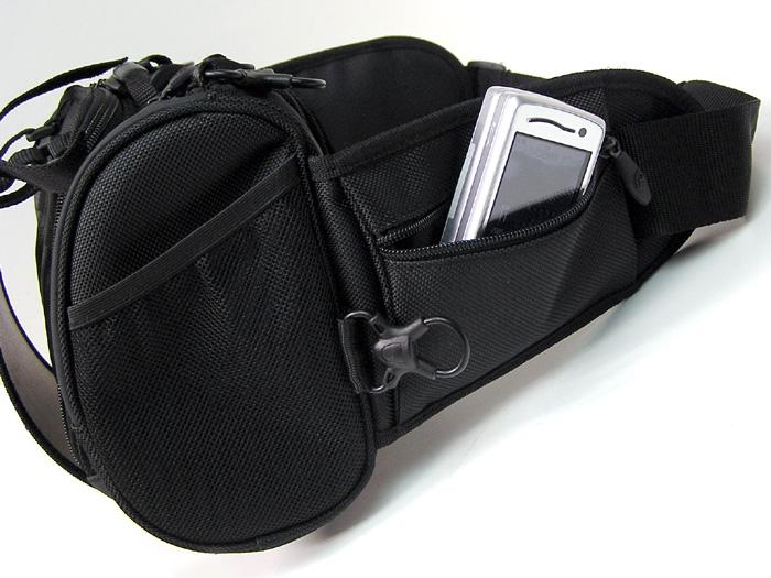 Boblbee BOBLBEE 山貨山貨髖關節袋腰袋男裝女裝黑色模型 BOBLBE-E