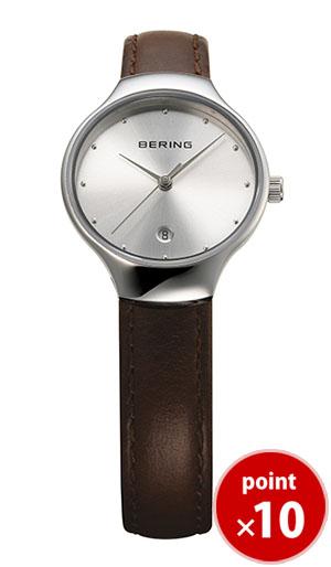 【国内正規品】【ギフト包装無料】ベーリング BERING レディース 腕時計 13326-500 日本限定 Classic Infinity Pair Collection カーフレザーベルト あす楽対応【送料無料】