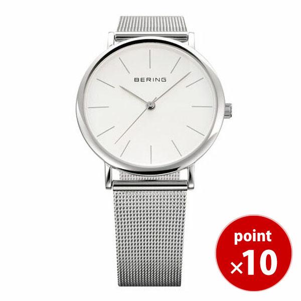 32039-447|腕時計 腕時計 メンズ BERING 腕時計 メッシュベルト ベーリング 送料無料 【ギフト包装無料】 ベーリング ウルトラスリムセラミック 時計 正規品 【あす楽対応】 腕時計 【ギフト】 【国内正規品】