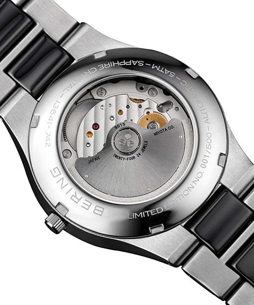 白令BERING人手錶世界500條限定13538-742自動自動卷日曆陶瓷器、SS金屬皮帶|漂亮的禮物禮物名牌男性