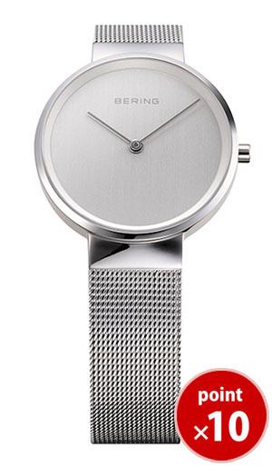 【国内正規品】【ギフト包装無料】ベーリング BERING レディース 腕時計 14531-000 クラシックカービングメッシュ SSメッシュベルト 【送料無料】