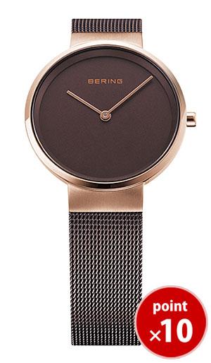 【国内正規品】【ギフト包装無料】ベーリング BERING レディース 腕時計 14531-262 クラシックカービングメッシュ SSメッシュベルト 【送料無料】
