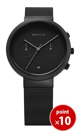 【国内正規品】【ギフト包装無料】ベーリング BERING メンズ 腕時計 31140-222 Smart Ceramic カレンダー SSメッシュベルト 【送料無料】