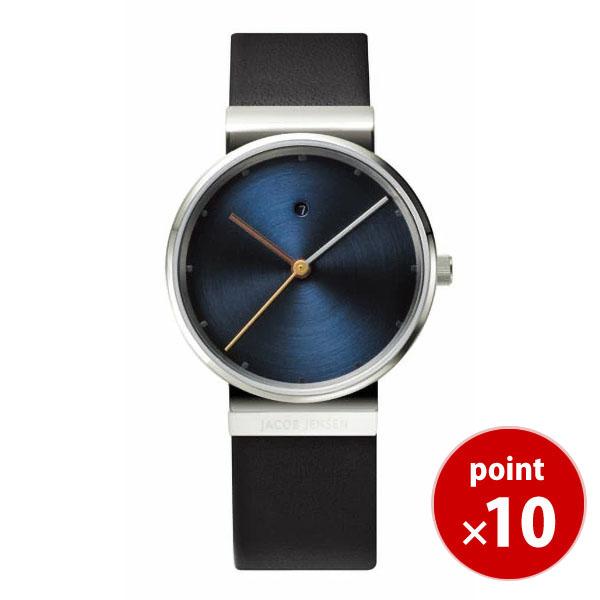 【国内正規品】【ギフト包装無料】ヤコブイェンセンJACOB JENSEN Dimensions レディース 腕時計 851 レザーベルト 【送料無料】