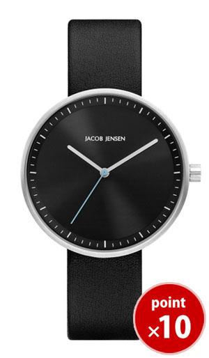 【国内正規品】【ギフト包装無料】ヤコブイェンセン JACOB JENSEN Strata メンズ・レディース 腕時計 JJ284 カーフレザーベルト 正規品 送料無料