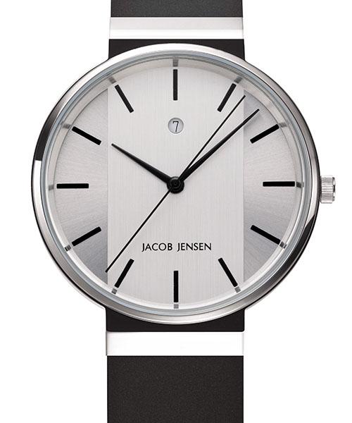 【国内正規品】【ギフト包装無料】ヤコブ・イェンセンJACOB JENSEN New メンズ 腕時計 JJ737 シリコンラバーベルト|腕時計 時計 うでどけい ウォッチ メンズ 腕時計 おしゃれ