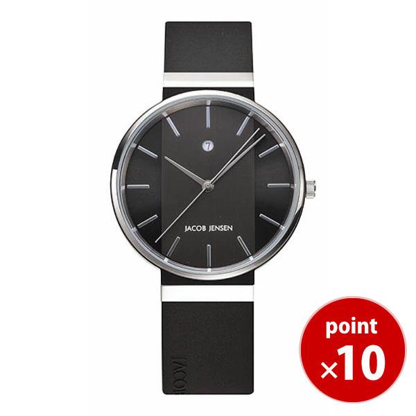 【国内正規品】【ギフト包装無料】ヤコブイェンセンJACOB JENSEN New メンズ 腕時計 JJ738 シリコンラバーベルト|腕時計 時計 うでどけい ウォッチ メンズ 腕時計 おしゃれ【あす楽対応】【送料無料】