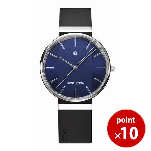 【国内正規品】【ギフト包装無料】ヤコブイェンセンJACOB JENSEN New メンズ 腕時計 JJ739 シリコンラバーベルト|腕時計 時計 うでどけい ウォッチ メンズ 腕時計 おしゃれ【あす楽対応】【送料無料】