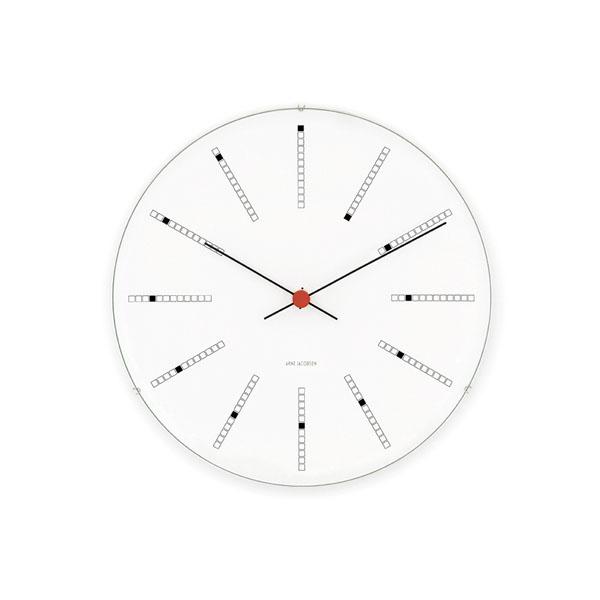 【アルネヤコブセン】【Bankers Clock】 バンカーズ クロック 16センチ 43620 【正規品】【送料無料】