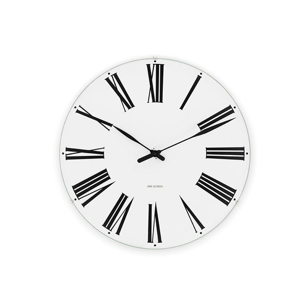 【アルネヤコブセン】【Roman Clock】 ローマン クロック 16センチ 43622【正規品】【送料無料】