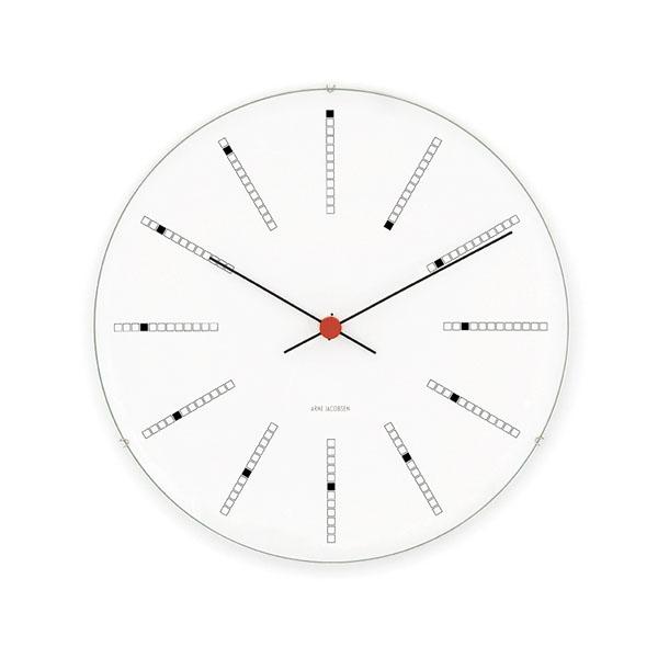 【アルネヤコブセン 】【Bankers Clock】 バンカーズ クロック 21センチ アルネヤコブセン 43630 【正規品】【送料無料】