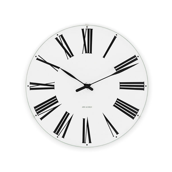【アルネヤコブセン】【Roman Clock】 ローマン クロック 21センチ 43632 【正規品】【送料無料】