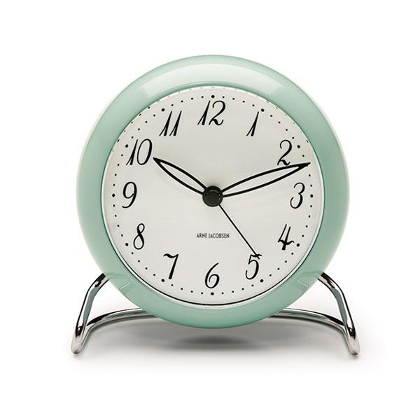 【アルネヤコブセン】【Table Clock】 LK 43681 Radisson Blu Royal Hotel スィートルームのイメージ・2018年限定カラー テーブルクロック アラーム LEDライト 置時計 【正規品】【送料無料】