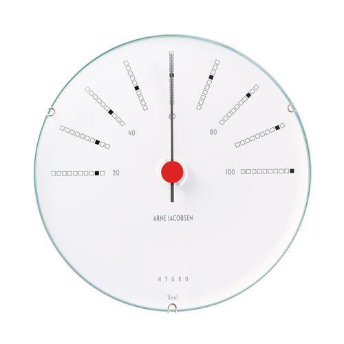 【エントリーでポイント14倍】【アルネヤコブセン】【Bankers Clock】 バンカーズ ウェザーステーションシリーズ Hygrometer 湿度計 43685 12センチ 【正規品】【送料無料】