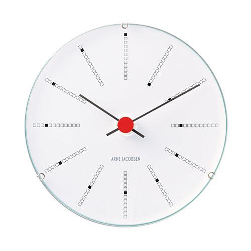 【アルネヤコブセン】【Bankers Clock】 バンカーズ クロック ウェザーステーションシリーズ 12センチ 43688 【正規品】【送料無料】