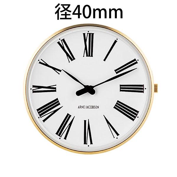 【国内正規品】【ギフト包装無料】【アルネヤコブセン】【Roman Watch】時計本体のみ ベルト別売り ローマン ウォッチ 径40mm 53308 イエローゴールドケース 正規品 送料無料 オシャレ 腕時計