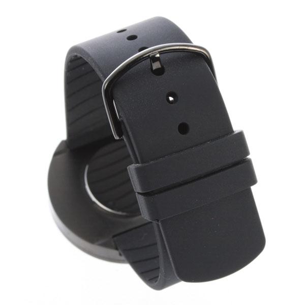 PICT PICTO人·女士兼用手錶43361徑40mm中間尺寸橡膠皮帶黑色情况黑色撥盤|漂亮的名牌禮物禮物生日禮物nuts