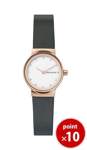 【国内正規品】【ギフト包装無料】【2017冬新着】 スカーゲン SKAGEN レディース FREJA 腕時計 SKW2669 Ladies Leather グレーレザーベルト|腕時計 腕時計 腕時計【送料無料】【あす楽対応】