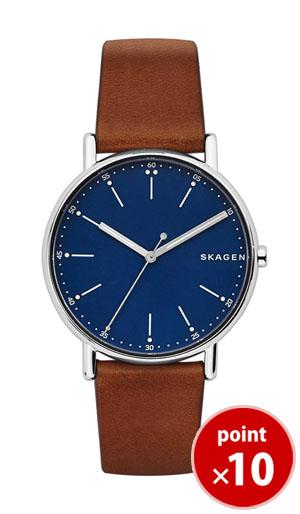 【国内正規品】【ギフト包装無料】スカーゲン SKAGEN メンズ SIGNATUR 腕時計 SKW6355 Leather Mens ブラウンレザーベルト【あす楽対応】【送料無料】|腕時計 腕時計