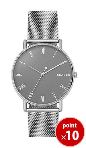【国内正規品】【ギフト包装無料】【2017冬新着】 スカーゲン SKAGEN メンズ SIGNATUR 腕時計 SKW6428 Steel Mens メッシュベルト 【送料無料】【あす楽対応】