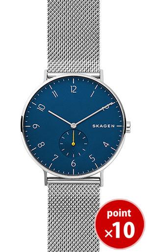 【国内正規品】【ギフト包装無料】【2018秋新着】スカーゲン SKAGEN メンズ AAREN 腕時計 SKW6468 Steel Mens メッシュベルト 【送料無料】【あす楽対応】