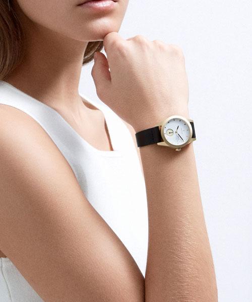【国内正規品】【ギフト包装無料】トリワ TRIWA レディース 腕時計 ASKA IVORY AKST101-SS010213 ゴールド オーガニックレザーベルト 【あす楽対応】