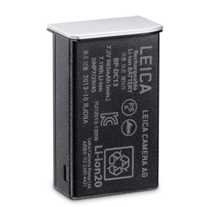 LEICA ライカT用 リチウムイオンバッテリー BP-DC13 シルバー Tシステム 18772 【スペアバッテリー/正規品/送料無料】【代金引換不可】