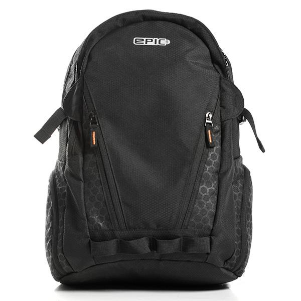 【エントリーでポイント5倍】epic エピック Skeleton Backpack 25L スケルトンバックパック EAL701 リュックサック 15インチ ノートPC対応 アウトドア ブラック 黒 メンズ レディース ADVENTURE LAB トラベル 旅行 正規品 送料無料