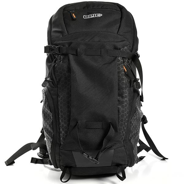 epic エピック Skeleton Backpack 35L スケルトンバックパック EAL702 大容量 リュックサック アウトドア ブラック 黒 メンズ レディース ADVENTURE LAB トラベル 旅行 正規品 送料無料