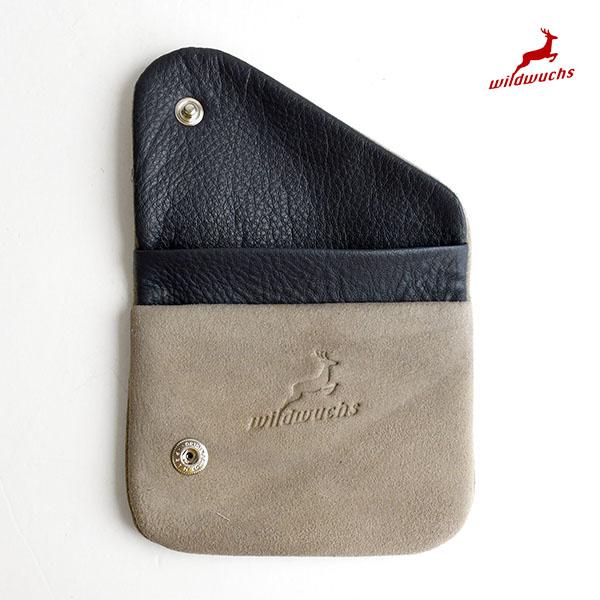 アッカーマン 鹿革 コインケース ドイツ製 A42-H91 財布 カードも入るコインケース 小銭入れ Ackermann Wildwuchs シャモア革| 正規品 小さい財布 薄い財布 pago 送料無料 あす楽対応