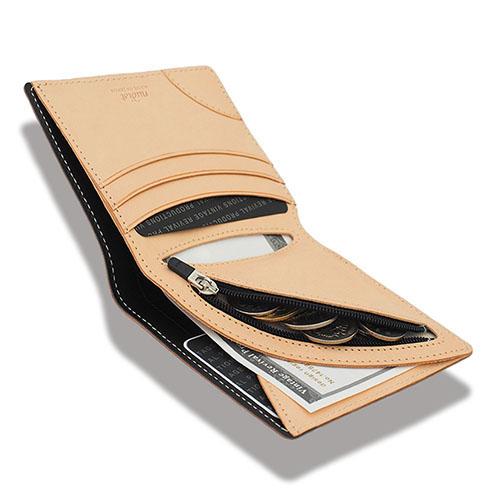 エアーウォレット ヌーディスト ヴィンテージリバイバルプロダクションズ | Nudist Air Wallet 白ヌメ革 VINTAGE REVIVAL PRODUCTIONS 二つ折り財布 小さい財布 薄い財布 軽い財布 | 正規品 送料無料 あす楽対応