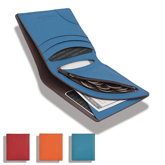 エアーウォレット 小銭入れあり マットシュリンクレザー 全3カラー ヴィンテージリバイバルプロダクションズ   Air Wallet Matte Shrink Leather VINTAGE REVIVAL PRODUCTIONS 二つ折り財布 小さい財布 薄い財布 軽い財布   正規品 送料無料 あす楽対応