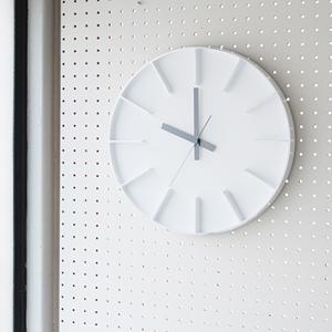 【ご用命後お届け予定をご回答】Lemnos:壁掛け時計 【edge clock】Designed by AZUMi 全2色 【正規品】【送料無料】