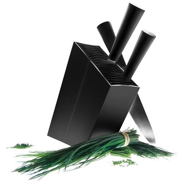 eva solo エバソロ ナイフスタンド 包丁スタンド アングルド ブラック 515290 北欧 デンマーク 北欧デザイン 雑貨 インテリア 【正規品】【送料無料】