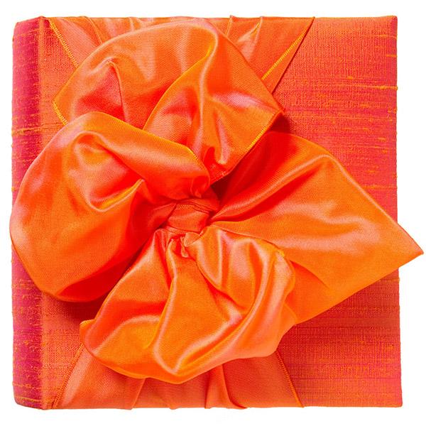 アメリカ製ハンドメイド アルバム 写真 フォトアルバム オレンジ JanSevadjian Designs 結婚式 結婚祝い 出産祝い 赤ちゃん かわいい 【あす楽対応】【正規品】【送料無料】
