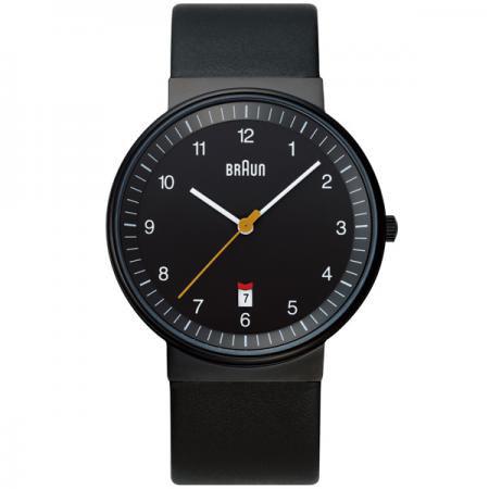 【もれなくアラームクロックプレゼント】ブラウン BRAUN メンズ 腕時計 BNH0032BKBKG カレンダー レザーベルト 【正規品】