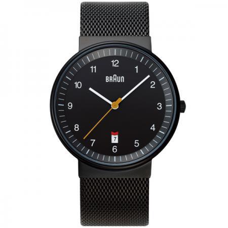 ブラウン BRAUN メンズ 腕時計 BNH0032BKBKMHG カレンダー メッシュベルト 【正規品】【送料無料】