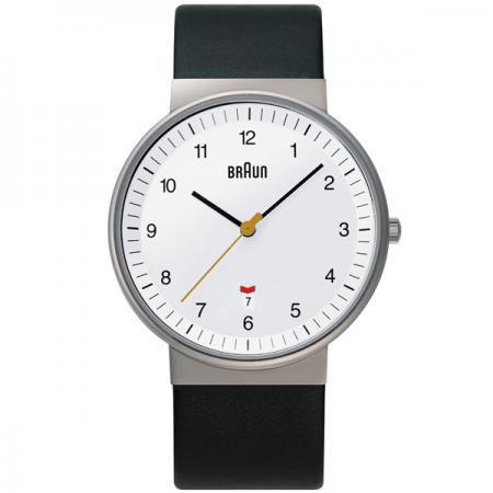 ブラウン BRAUN メンズ 腕時計 BNH0032WHBKG カレンダー レザーベルト 【あす楽対応】【正規品】【送料無料】