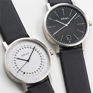 【国内正規品】【ギフト包装無料】エービーアート a.b.art メンズ 腕時計 O101グレーダイヤル O102ブラックダイヤル O103ホワイトダイヤル O104ブラックダイヤル 正統派 モダン スイス製