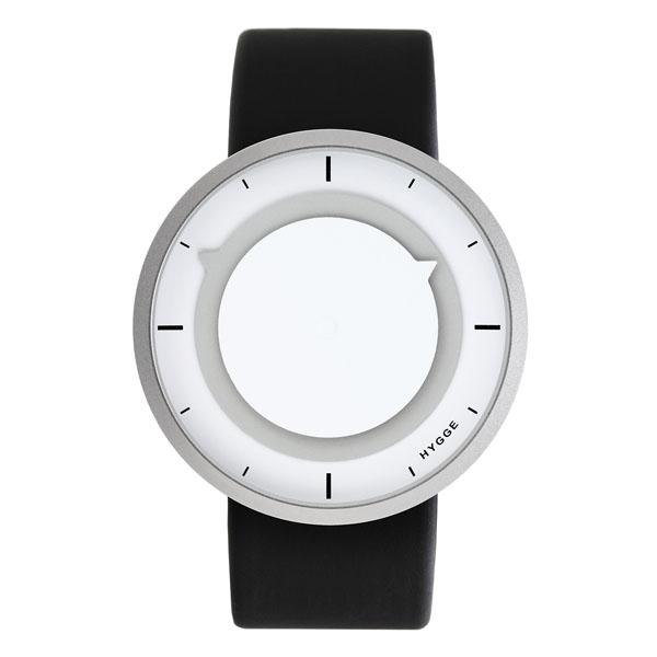 【国内正規品】【ギフト包装無料】ヒュッゲ HYGGE 3012シリーズ MSP3012C(GR) ステンレスケース ホワイト・クールグレー ポリウレタンレザーストラップ 腕時計 腕時計 腕時計【送料無料】