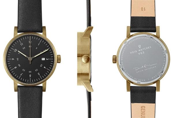 【国内正規品】【ギフト包装無料】【ヴォイド】 【VOID】 腕時計 VID020041 ユニセックス メンズ・レディース兼用 レザーストラップ 【】