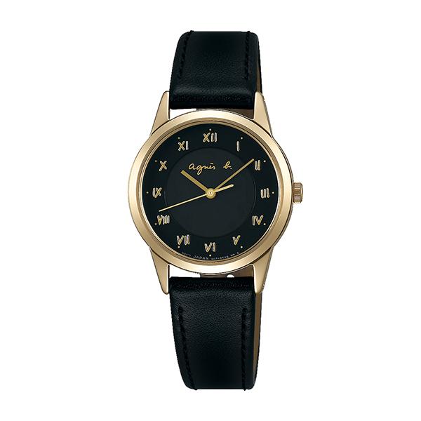 【国内正規品】 アニエスベー ソーラー agnes b. 時計 腕時計 27.6mm シャンパン×ブラックレザー FBSD941 レディース アニエス・ベー アニエスb. 【送料無料】あす楽対応