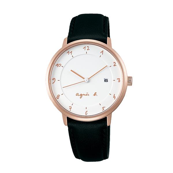 【国内正規品】 アニエスベー マルチェロ agnes b. marcello 時計 腕時計 33mm ピンクゴールド×ブラック FBSK946 レディース アニエス・ベー アニエスb. 【送料無料】あす楽対応