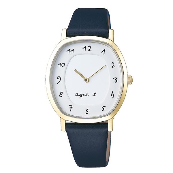 【国内正規品】 アニエスベー マルチェロ agnes b. marcello 時計 腕時計 39×31mm シャンパンゴールド FCSK928 レディース アニエス・ベー アニエスb. 【送料無料】