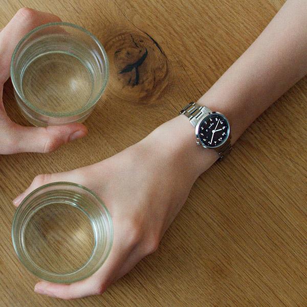 【2019年1月新製品】【国内正規品】 アニエスベー マルチェロ カレンダー agnes b. marcello 時計 腕時計 30mm シルバー×ホワイト FCSK935 レディース アニエス・ベー アニエスb.