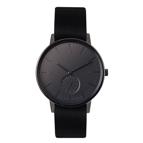 【国内正規品】 イノベーター innovator Moderna モダン 【38mm】 メンズ レディース 150445 IN-0002-13 ブラック ブラックレザーベルト 腕時計 革 【送料無料】あす楽対応